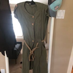 Zara timeless utilitarian dress